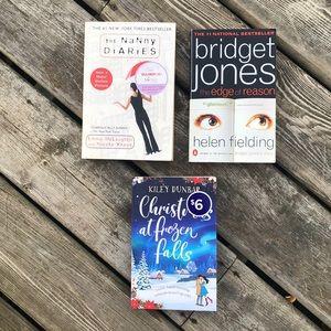 The Nanny Diaries, Bridget Jones Edge of Reason and Christmas at Frozen Falls